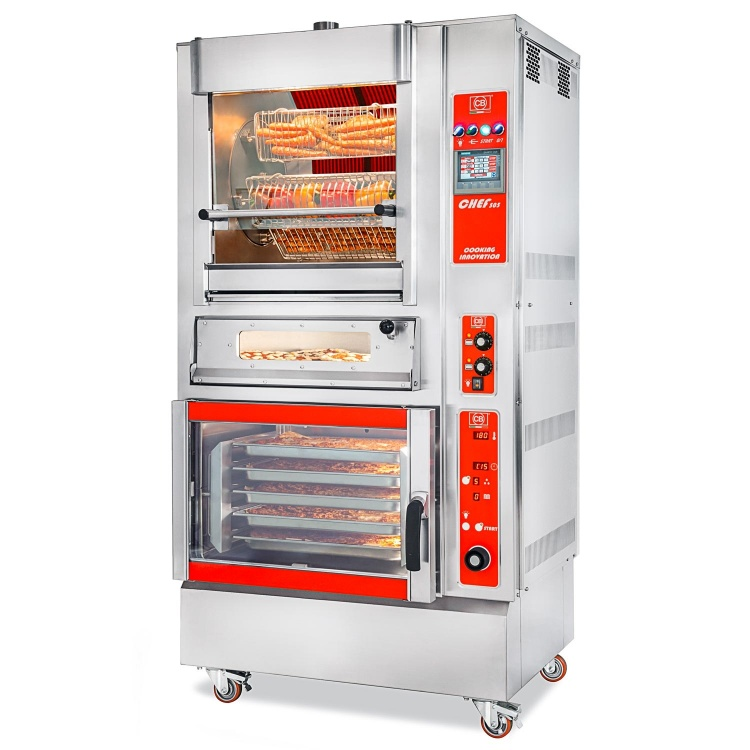 CB² COOKING BLOCK - CHEF 505 + FCE-UM + 4-PIZZA-CB-VI