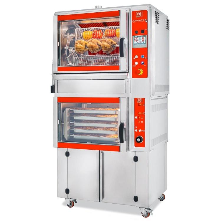 CB² COOKING BLOCK - LEONARDO 550/6 + FCE-UM PR9 industry 4.0