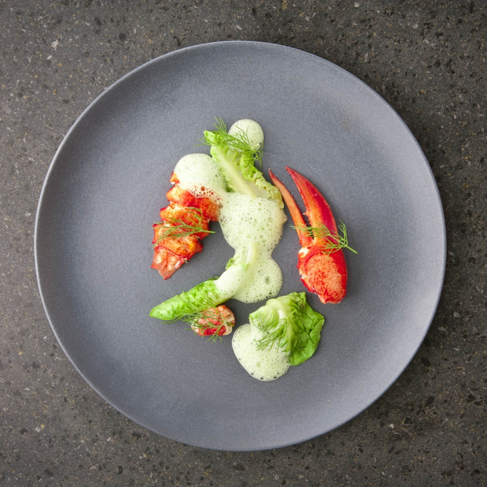 Lobster, lettuce and fennel